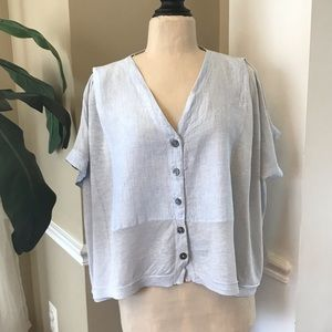 Poetry Button-up Blouse